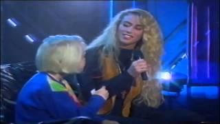 Sara Dís Hjaltested og María Björk Sverrisdóttir - Mamma 1993