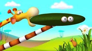 Газун мультики для детей - Камуфляж - мультфильм Gazoon cartoons for kids