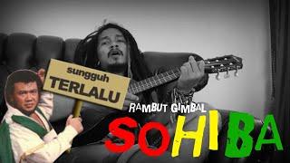 lucu lagu RHOMA IRAMA - SOHIBA di cover anak reggae jadi kaya gini #delluuyee