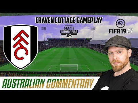 NEW FIFA 19 GAMEPLAY - CRAVEN COTTAGE AND AUSTRALIAN COMMENTARY thumbnail