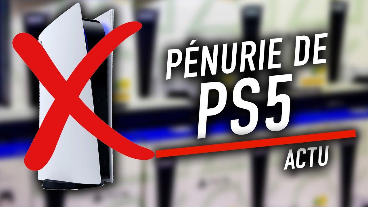 Pourquoi est-il si compliqué de se procurer une PS5 ? - 01net