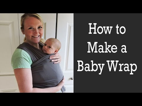How To Make A Baby Wrap Youtube