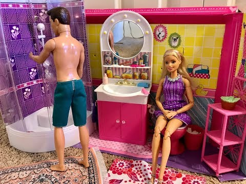 Barbie and Ken Morning Routine!