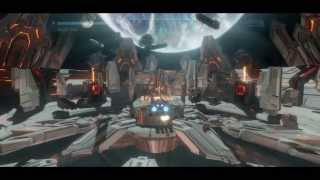 Halo 4 Midnight Broadsword Run with 100% Boost!