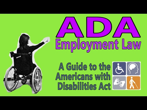 Americans with Disabilities Act | A Guide to Title I Employment