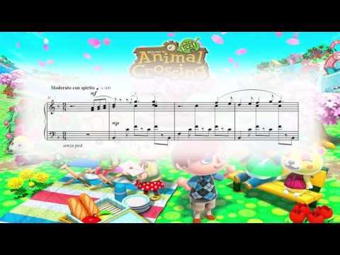 Animal Crossing: New Leaf - Main Theme (Piano Sheet Music)