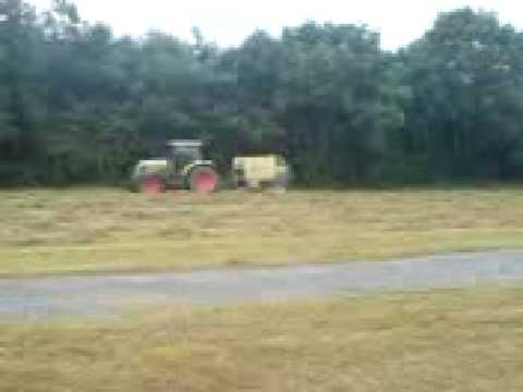 Claas Baling in county roscommon