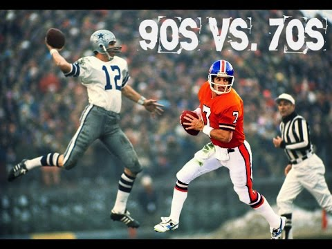NFL ALL DECADE TOURNAMENT - WHAT IF - 90s vs 70s - ELWAY vs. STAUBACH