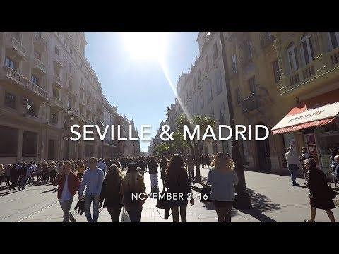 TRAVEL VLOG: SEVILLE & MADRID, SPAIN 2016