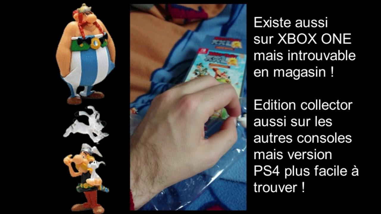 Asterix Et Obelix Xxl 2 Unboxing Switch Youtube