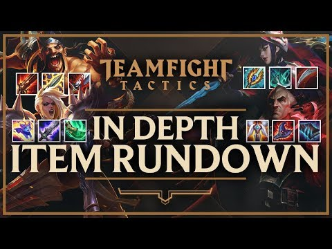 IN-DEPTH ITEM GUIDE FOR EVERY CHAMPION IN TFT   Teamfight Tactics