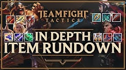 IN-DEPTH ITEM GUIDE FOR EVERY CHAMPION IN TFT | Teamfight Tactics