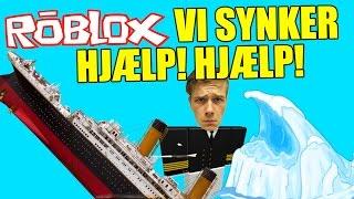 ABOARD the TITANIC?! ENGLISH-ROBLOX