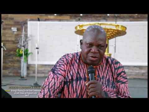 Rev Mike Oye ministration at Wellspring Club Abuja Missions Conference 2018 - Part 1