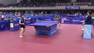 石巍vs廣瀬孝子 2017東京卓球選手権 女子フィフティ 決勝   Rallys