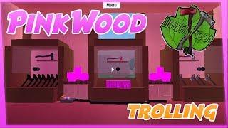 Pink Wood Wall (One Plot Challenge) BEST TROLL   Lumber Tycoon 2 ROBLOX