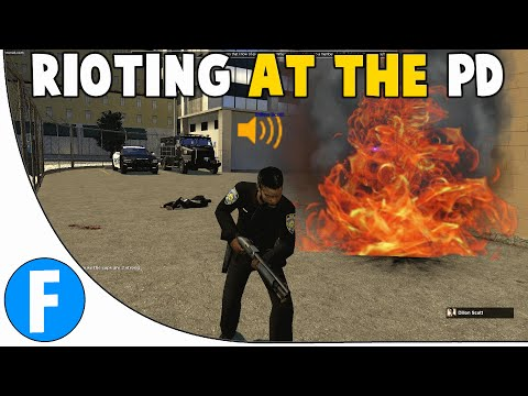 Garry's Mod - COPS - [26] Rioting at the PD