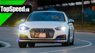 Test Audi S5 (typ B9) TopSpeed.sk