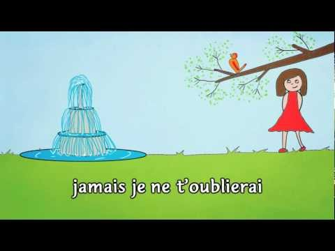 « A la claire fontaine » M'en allant promener  Mister Toony