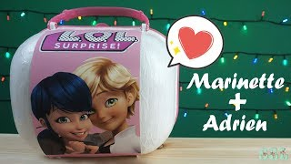 МАРИНЕТТ и АДРИАН ЛОЛ Сюрприз Custom Bigger LOL Surprise Marinette Adrian