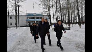 Рабочая поездка губернатора Сергея Фургала в Охотский район