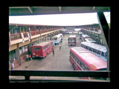 Me Bus Newathuma In Matara Bus Standmp4 Youtube