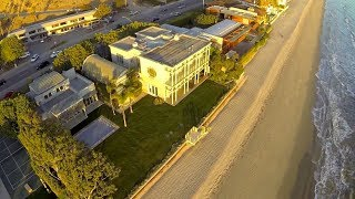 Real Estate of Carbon Beach Malibu California from the Air DJI Phantom DSLR Pros GoPro Hero3
