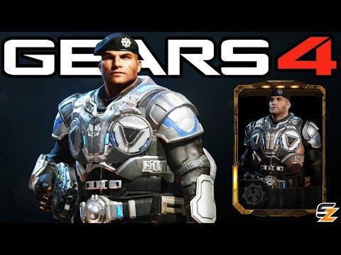 """Gears of War 4 - """"Lieutenant JD Fenix"""" Character Multiplayer Gameplay! (COG Officer DLC)"""