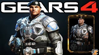 "Gears of War 4 - ""Lieutenant JD Fenix"" Character Multiplayer Gameplay! (COG Officer DLC)"