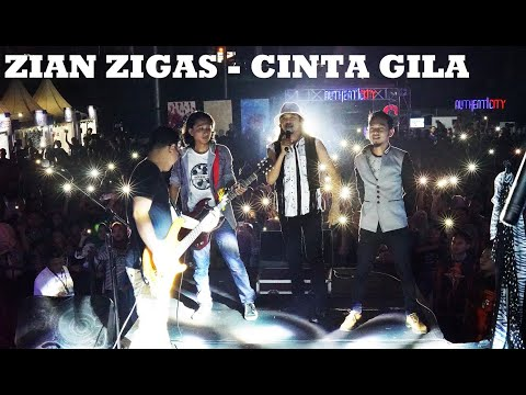 ZIAN ZIGAS - CINTA GILA (COVER ZIGAS - Live From Authenticity)