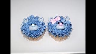 Cake decorating tutorials | how to make TEDDY BEAR CUPCAKES | Sugarella Sweets