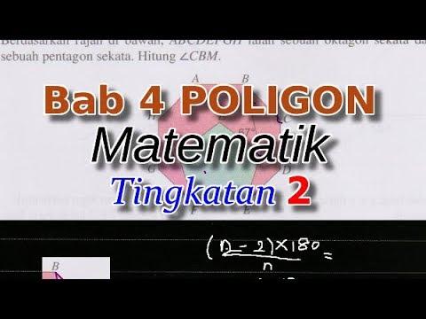 Bab 4 Poligon Matematik Tingkatan 2 Menjana Kecemerlangan Youtube