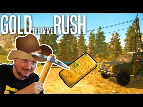 FØRSTE GULDBARRE! - Gold Rush The Game Dansk Ep 2