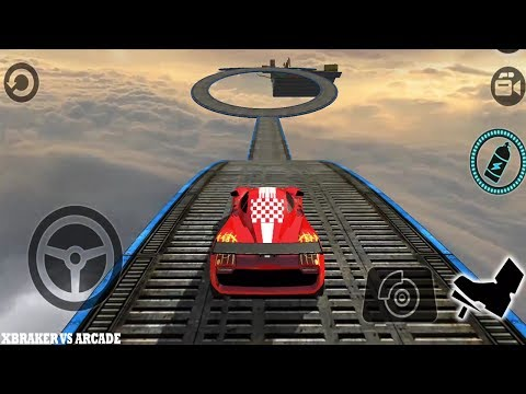 Impossible Stunt Car Tracks 3D - Android GamePlay 2017 ! Mid-Air Stunts and sky high driving tracks