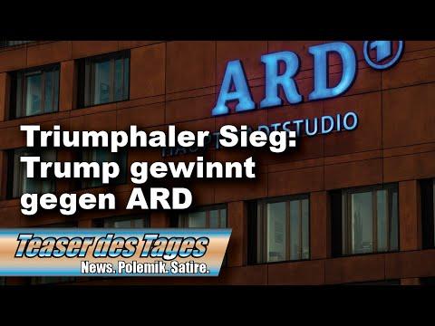 Sensationell: ARD plötzlich auf Trump-Kurs? (Teaser 08.10.20)