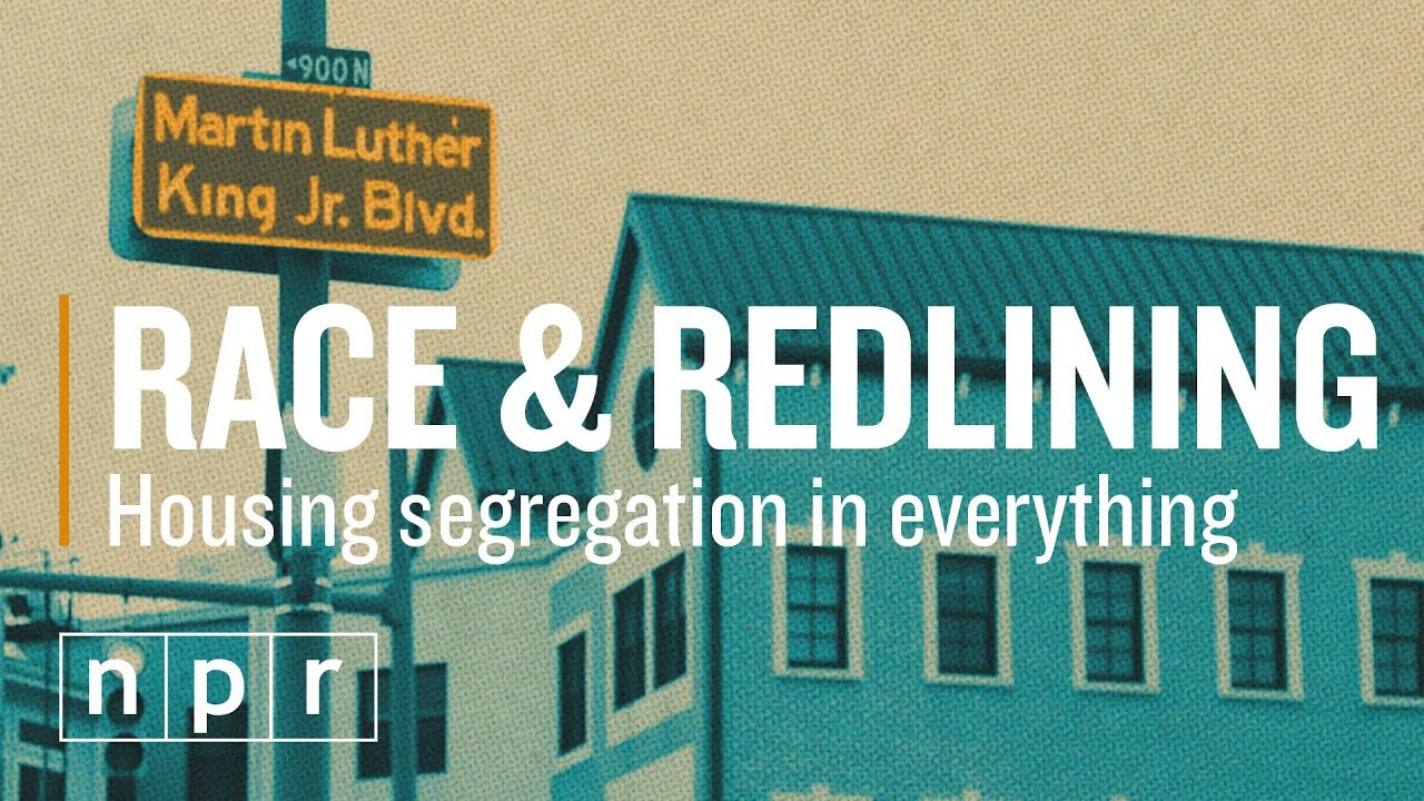 What is redlining, and how did it happen in Atlanta?