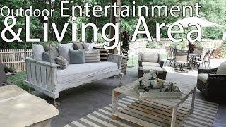 Fabulous Charlotte Outdoor Entertainment & Living Area Construction Project Video