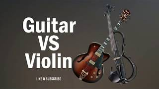 Who Played it Better || Guitar VS Violin