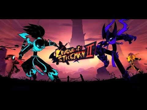 League of Stickman 2 android game first look gameplay español - 동영상