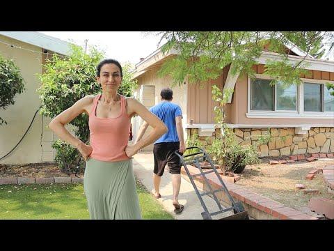 Բակի Մեծ Մաքրություն - Պերաշկի Փարթի - Heghineh Vlog 661 - Mayrik By Heghineh
