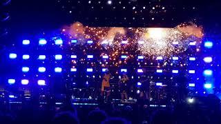 Bruno Mars Concert on Microsoft Celebration night.