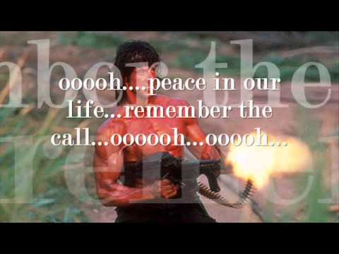 peace in our life frank stallone.wmv
