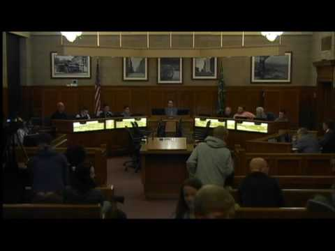 Duluth City Council first reading of transportation network company ordinance