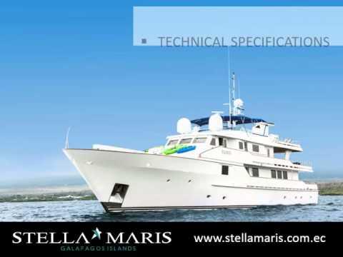 Stella Maris Luxury Yacht - Galapagos. 2016 Presentation.