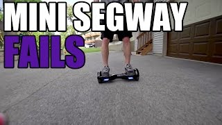 HOVERBOARD/MINI SEGWAY FAILS #1(Hoverboard/Mini Segway Fails #1! A Collection of funny fails and moments in a compilation. The Hoverboard or Mini Segway is a two wheeled electric scooter ..., 2015-08-12T02:57:57.000Z)