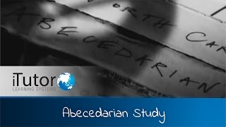 iTutor - Abecedarian Study
