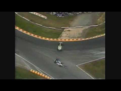 Senna vs Rosberg - 1985 European Grand Prix