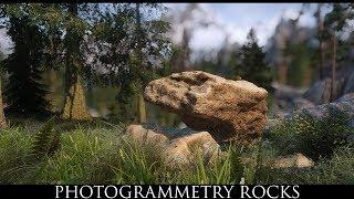 TES V - Skyrim Mods: Photogrammetry Rocks