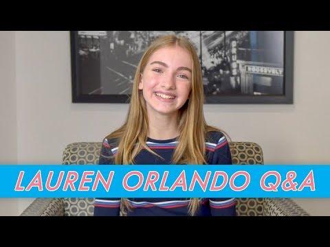 Lauren Orlando Q&A