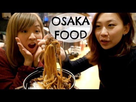 Osaka Food Guide In Dotonbori 2: Kushikatsu And Yakisoba Restaurants In Namba, Osaka | 道頓堀のおすすめグルメ